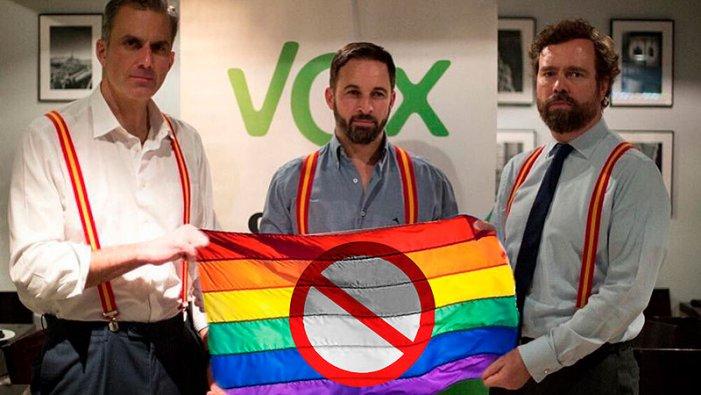 Les set frases més homòfobes de Vox