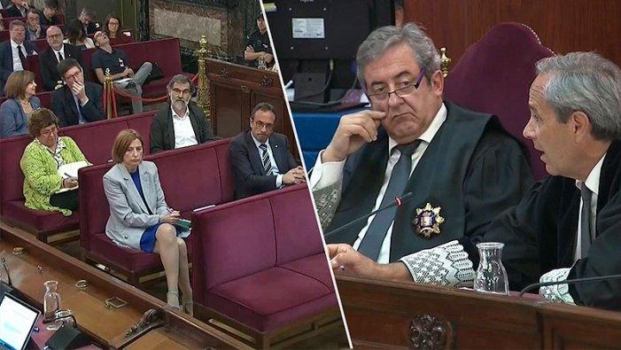 """Fiscalia acusa els presos polítics catalans de protagonitzar un """"cop d'estat"""""""