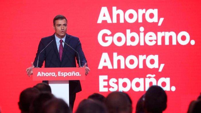 Pedro Sánchez en campanya: espanyolisme i amenaça d'un nou 155 a Catalunya
