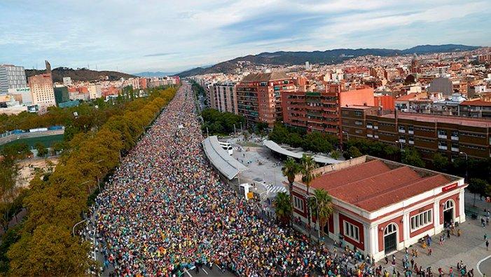 La vaga general paralitza Catalunya