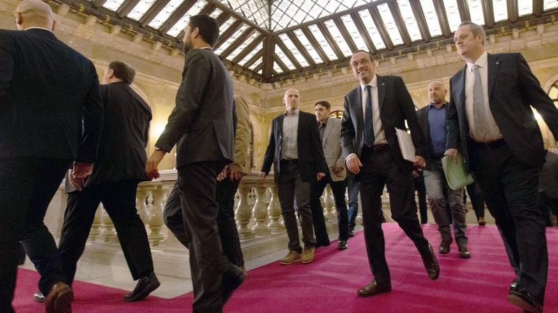 Junqueras i els exconsellers tornen al Parlament en una comissió que investiga el 155