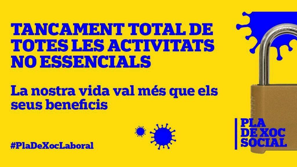 Tancament de NO essencials!