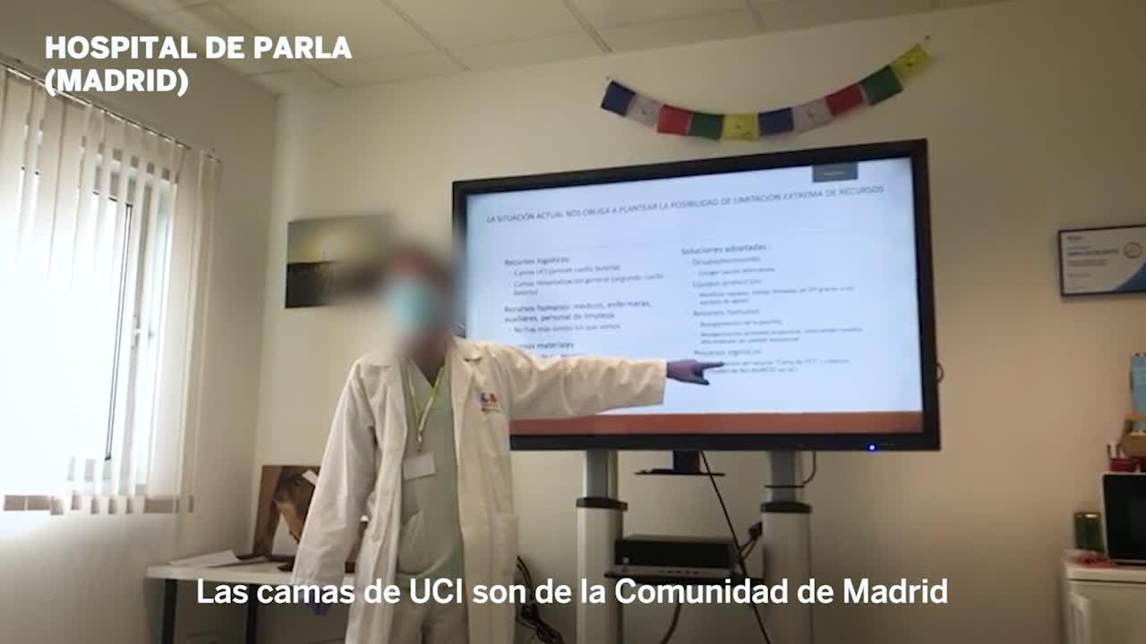 Vídeo demostra que el govern d'Ayuso va ordenar excloure a ancians del sistema sanitari