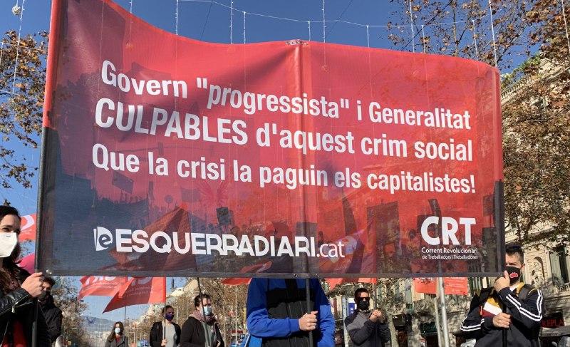 Enfront el suport de la CUP a un govern processista: cal construir una esquerra anticapitalista i revolucionària