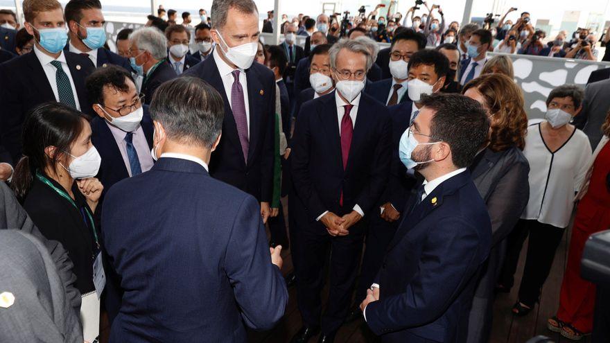 Aragonès: de l'1O a només gestionar el port i l'aeroport