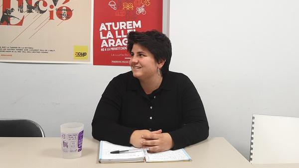 """Adriana Roca, d'ARRAN : """"La sentència és un precedent per a criminalitzar la protesta i la desobediència"""""""